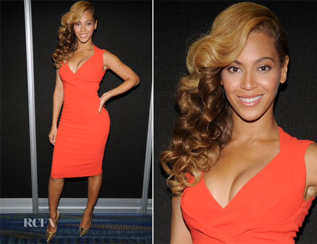 Beyonce Knowles In Antonio Berardi - Radio Row