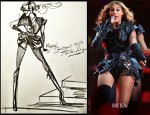 Beyonce Knowles In Rubin Singer - Super Bowl XLVII Halftime Show