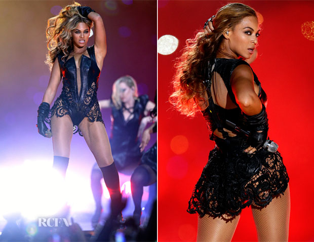 Beyonce Knowles In Rubin Singer - Superbowl Sunday