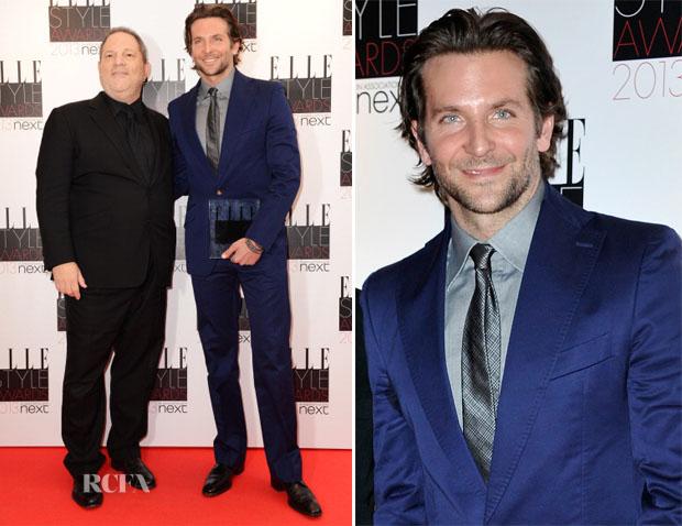 Bradley Cooper In Vivienne Westwood Man - 2013 Elle Style Awards