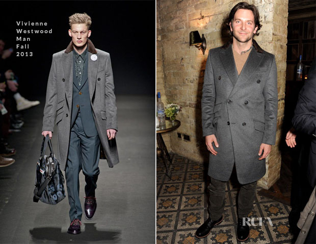 Bradley Cooper In Vivienne Westwood Man - Grey Goose Dinner For 'Silver Linings Playbook'