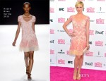 Brittany Snow In Naeem Khan - 2013 Independent Spirit Awards