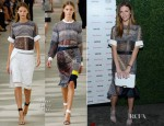 Brookyln Decker In Preen - Vanity Fair And Juicy Couture Celebration Of The 2013 Vanities Calendar