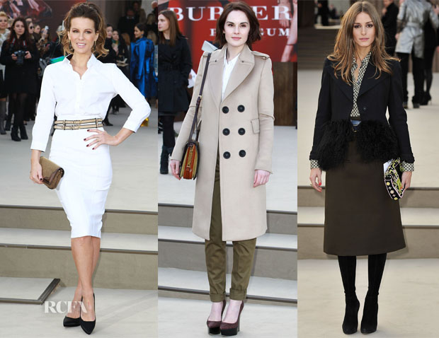 Burberry Fall 2013 Front Row 2
