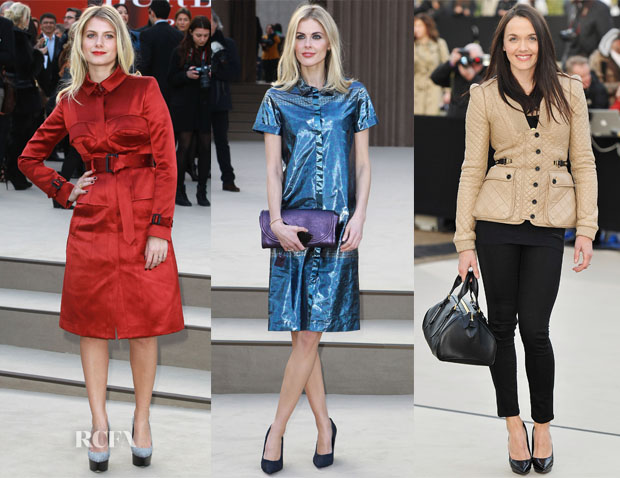 Burberry Fall 2013 Front Row 4