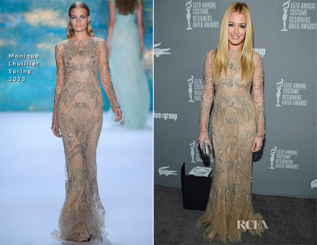 Cat Deeley In Monique Lhuillier - 15th Annual Costume Designers Guild Awards