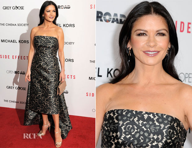 Catherine Zeta Jones In Michael Kors - 'Side Effects' New York Premiere