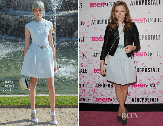 Chloe Moretz In Chanel - Teen Vogue 10th Anniversary Party & Chloe Moretz Sweet Sixteen Birthday Party