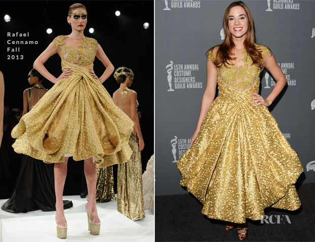 Christa B Allen In Rafael Cennamo - 15th Annual Costume Designers Guild Awards