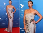 Charlize Theron In Gucci - Cinema For Peace Gala 2013