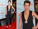 Cobie Smulders In YSL - 'Safe Haven' LA Premiere