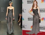 Darby Stanchfield In Donna Karan - 2013 NAACP Image Awards