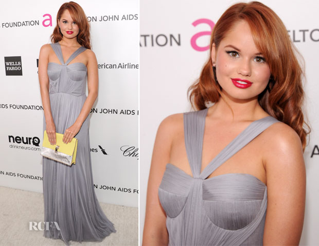 Debby Ryan In Lisa Ho - 2013 Elton John AIDS Foundation Oscars Party
