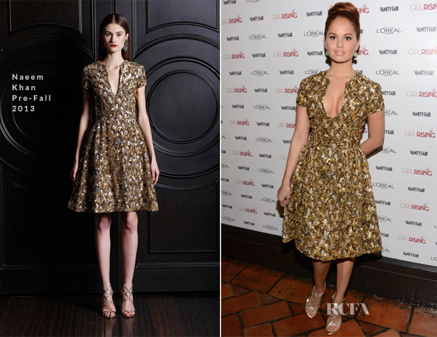 Debby Ryan in Naeem Khan – Vanity Fair Campaign Hollywood 2013