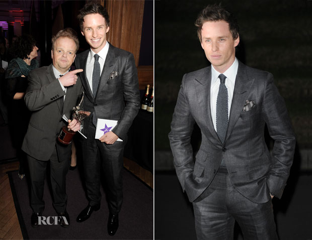 Eddie Redmayne In Tom Ford - London Evening Standard British Film Awards