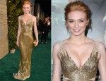 Eleanor Tomlinson In Azzaro - 'Jack The Giant Slayer' LA Premiere