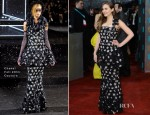 Elizabeth Olsen In Chanel Couture - 2013 BAFTA Awards