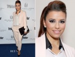 Eva Longoria In Boss - Conde Nast Traveler Celebrates The Leading Hotels Of The World 85th Anniversary