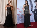 Famke Janssen In Naeem Khan - 'Hansel and Gretel: Witch Hunters' Berlin Film Festival Premiere