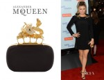 Fergie's Alexander McQueen Knuckleduster Box Clutch