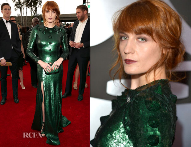 Florence Welch In Givenchy - 2013 Grammy Awards