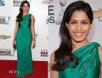 Freida Pinto In  James Ferreira - 2013 NAACP Image Awards