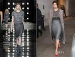 Gemma Arterton In Ermanno Scervino - BBC Radio