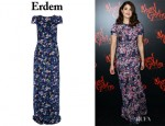 Gemma Arterton's Erdem 'Clarise' Floral Dress