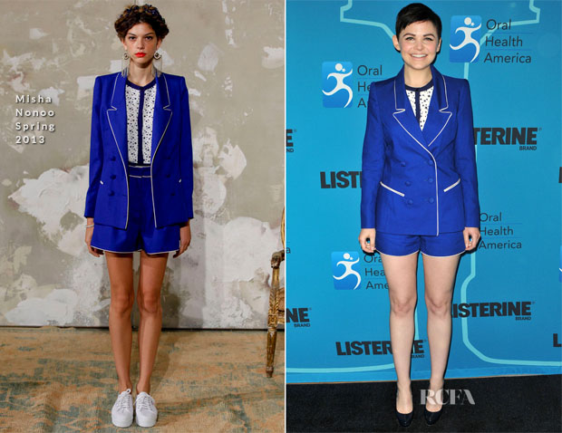 Ginnifer Goodwin In Misha Nonoo - Listerine 21 Day Challenge Kick-Off