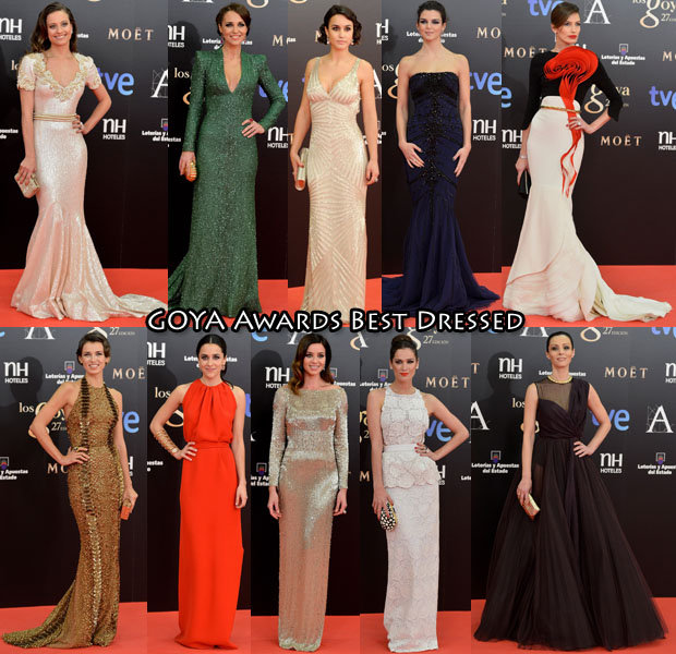 Goya Awards Best Dressed