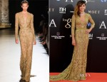 Goya Toledo In Elie Saab Couture - 2013 Goya Cinema Awards
