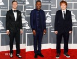 2013 Grammy Awards Menswear Round Up