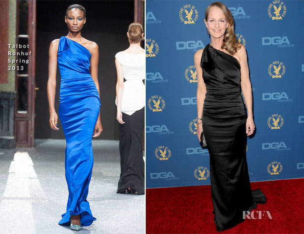 Helen Hunt In Talbot Runhof S13 - 2013 DGA Awards