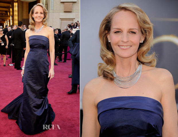 Helen Hunt In H&M - 2013 Oscars