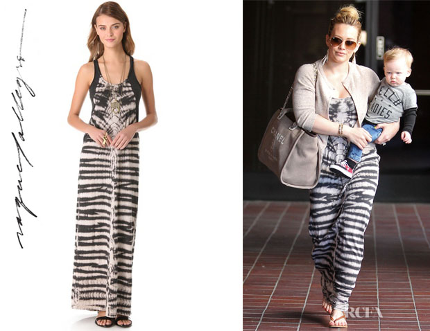 Hilary Duff's Raquel Allegra Maxi Tank Dress