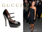 Jada Pinkett-Smith Gucci 'Lisbeth' Pumps