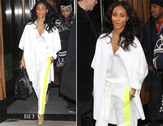 Jada Pinkett-Smith In Les Chiffoniers - Out In New York City