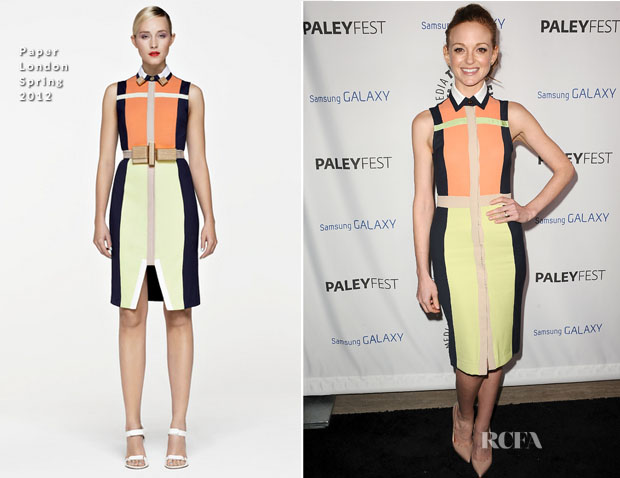 Jayma Mays In Paper London - PaleyFest Icon Award 2013