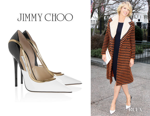 Jenna Elfman's Jimmy Choo 'Vero' Pumps