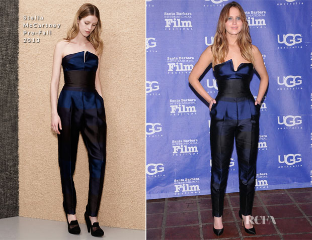 Jennfier Lawrence In Stella McCartney - 28th Santa Barbara Film Festival Outstanding Performer Of The Year Award Ceremony