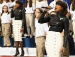 Jennifer Hudson In Monika Chiang & L'Wren Scott - Super Bowl XLVII