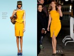 Jennifer Lawrence In Emilio Pucci - Jimmy Kimmel Live