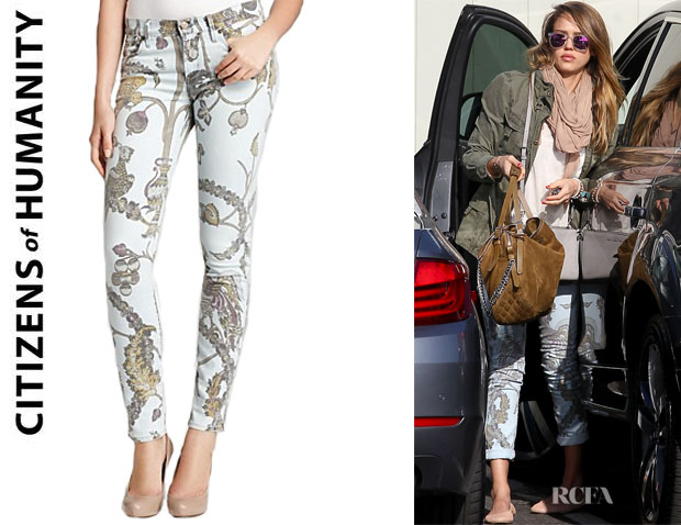 Jessica Alba's Citizens of Humanity Avedon Skinny Jeans