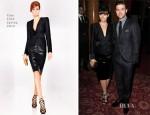 Jessica Biel & Justin Timberlake In Tom Ford - Tom Ford Fall 2013 Presentation