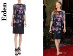 Jessica Chastain's Erdem 'Anna' Dress