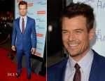 Josh Duhamel In Ralph Lauren - 'Safe Haven' LA Premiere
