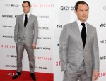 Jude Law In Tom Ford - 'Side Effects' New York Premiere