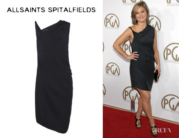 Julia Stiles' AllSaints 'Othea' Mini Dress