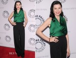 Julianna Margulies In Lanvin - The Paley Center For Media Presents: 'She's Making Media: Julianna Margulies'