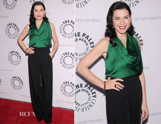 Julianna Margulies In Lanvin - The Paley Center For Media Presents 'She's Making Media Julianna Margulies'